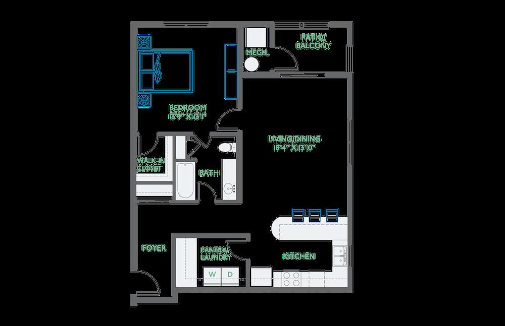 apartment B-206 thumbnail