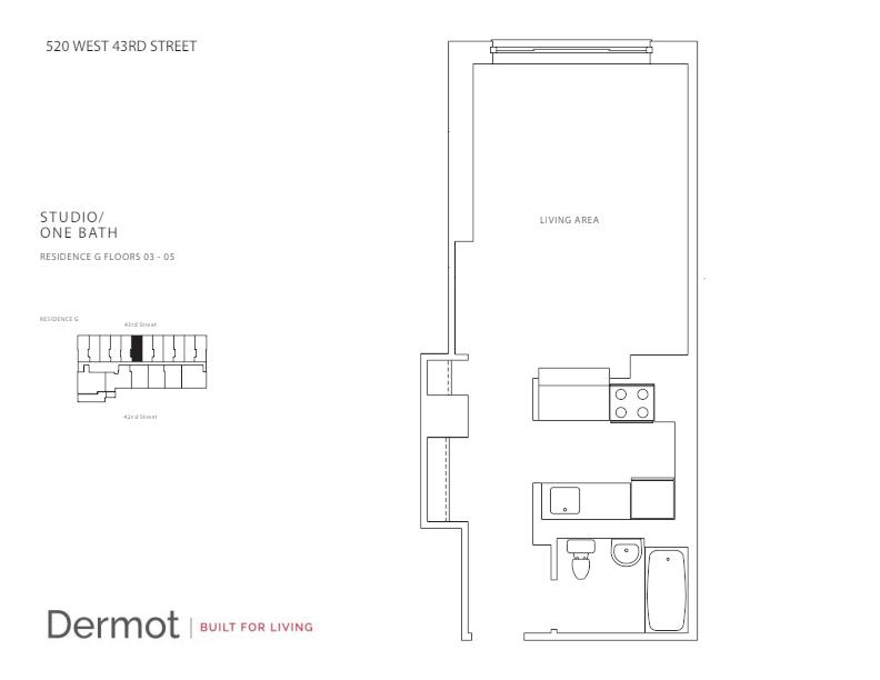 Floor plan for 4G