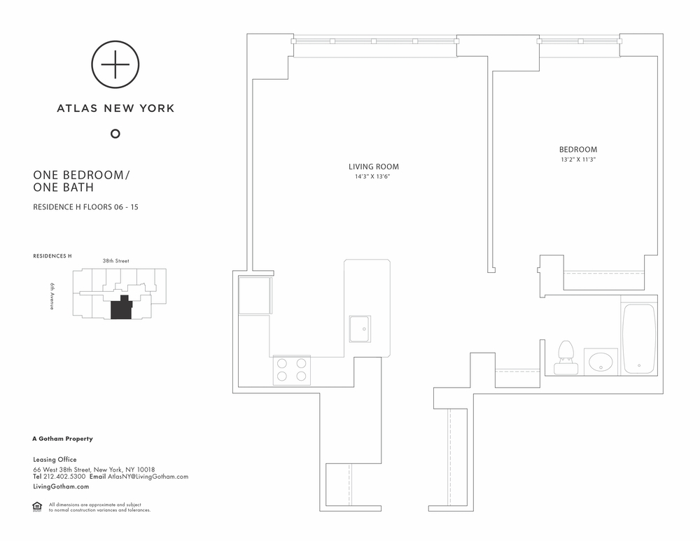 Atlas New York: 14H