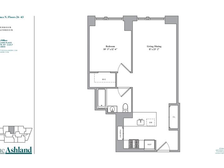 The Ashland #43N Floorplan