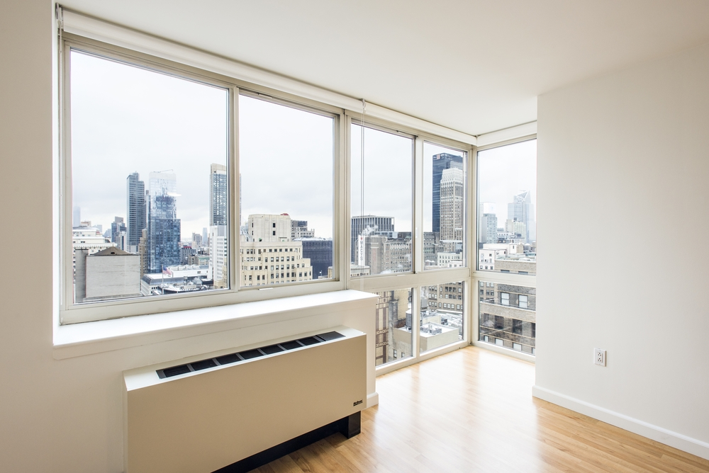 Atlas New York: 23D a room with a large window