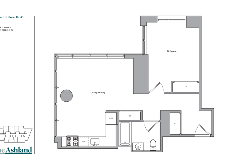 The Ashland #23C Floorplan