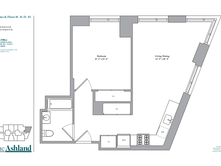 The Ashland #41K Floorplan