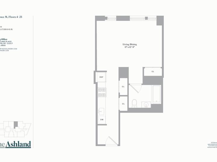 The Ashland #25M Floorplan