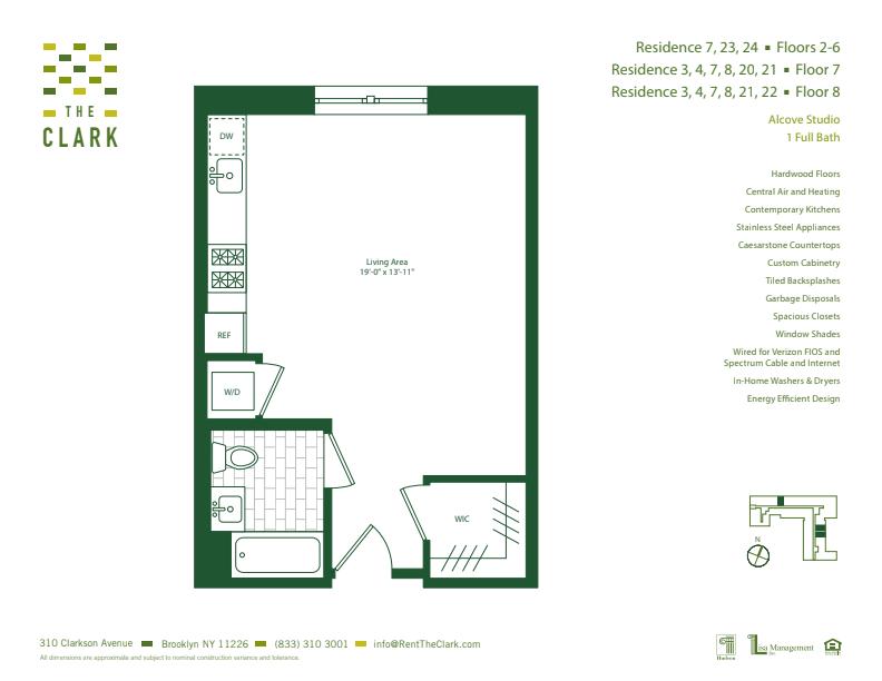 #703 Floor Plan