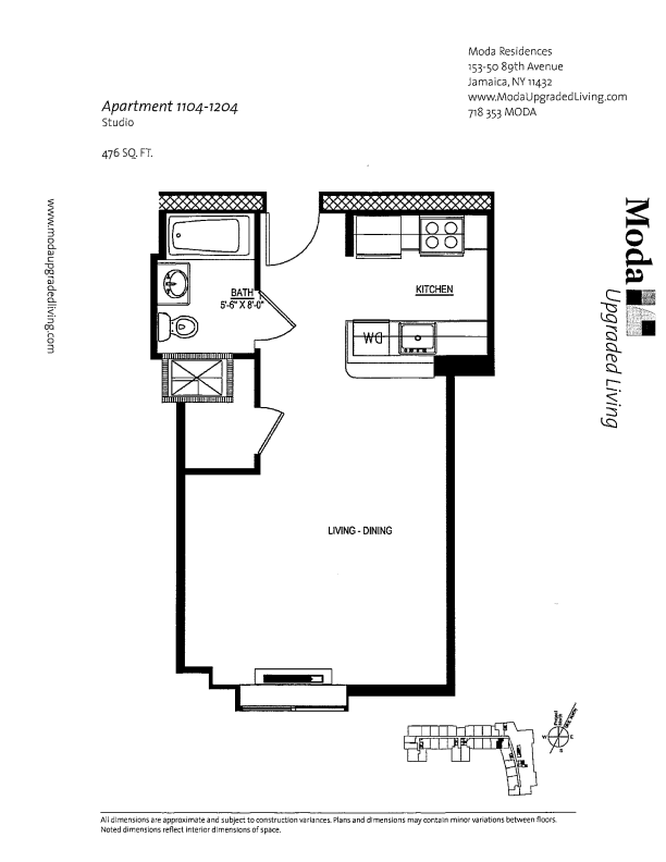 Floor plan for 904