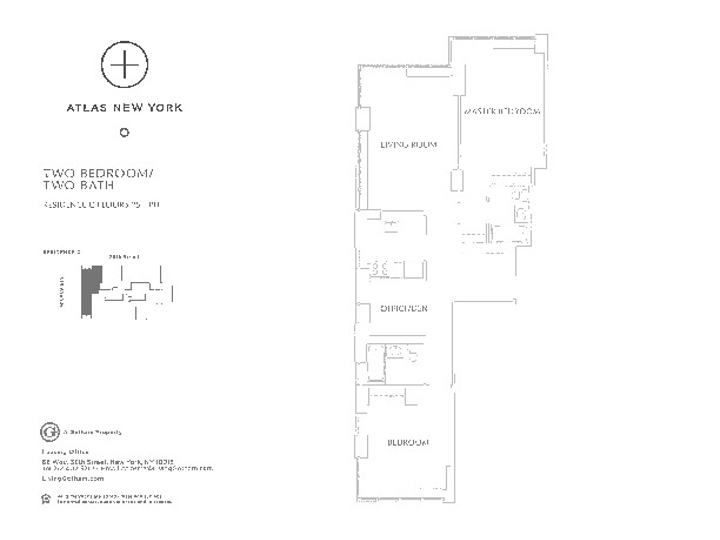 Atlas New York #42C Floorplan