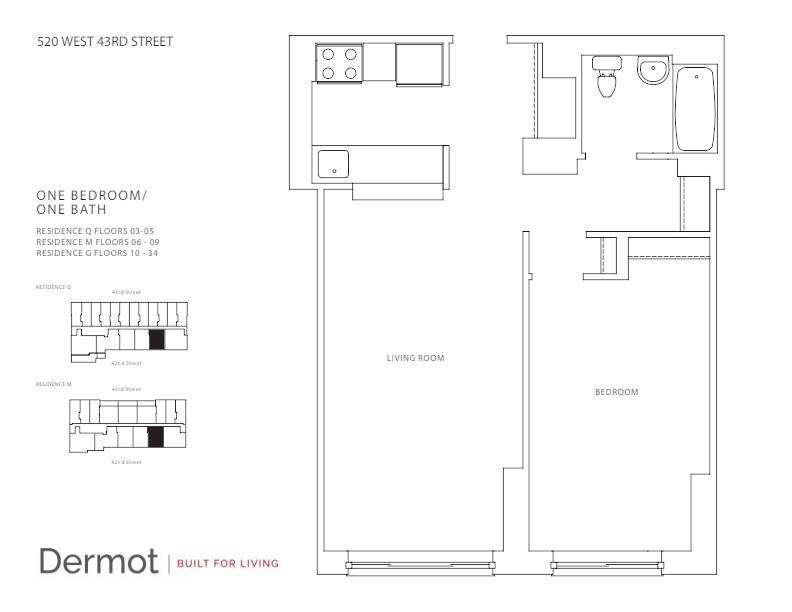 Floor plan for 3Q