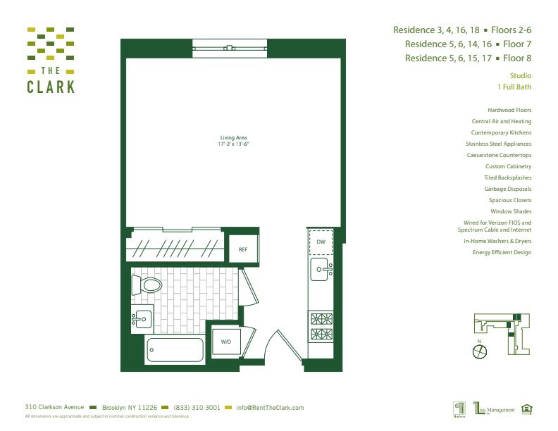 #806 Floor Plan