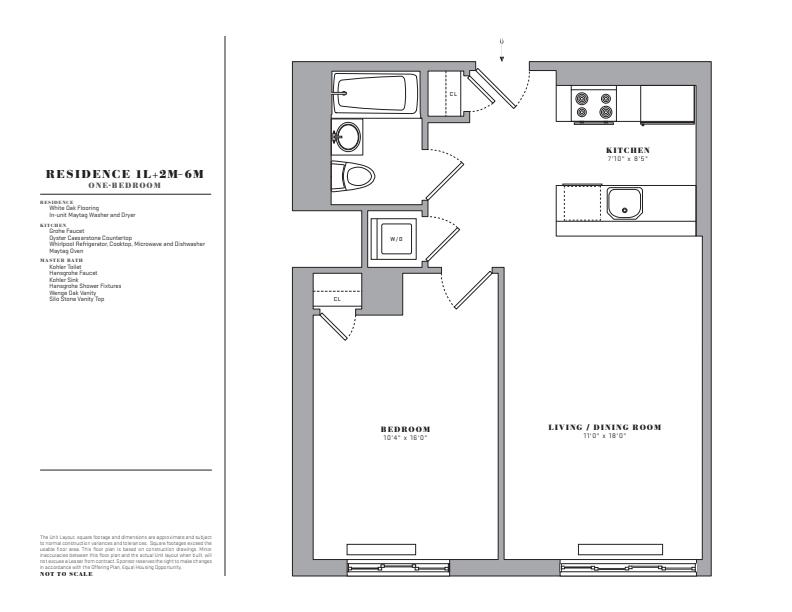 Floor plan for 2M