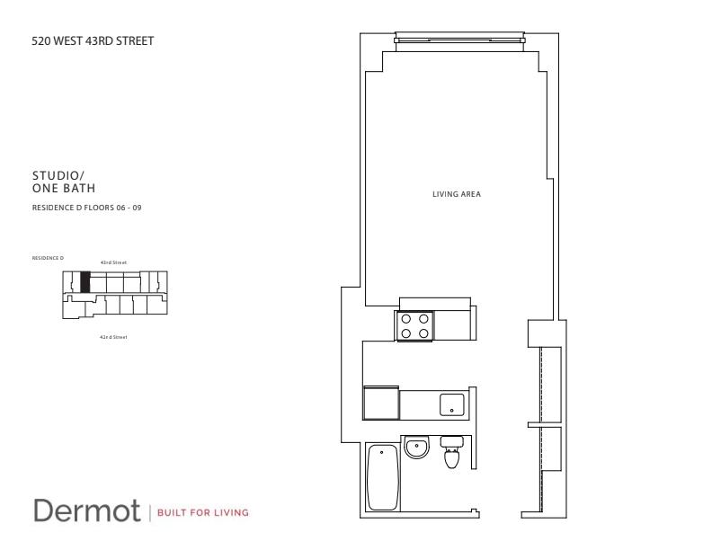 Floor plan for 9D