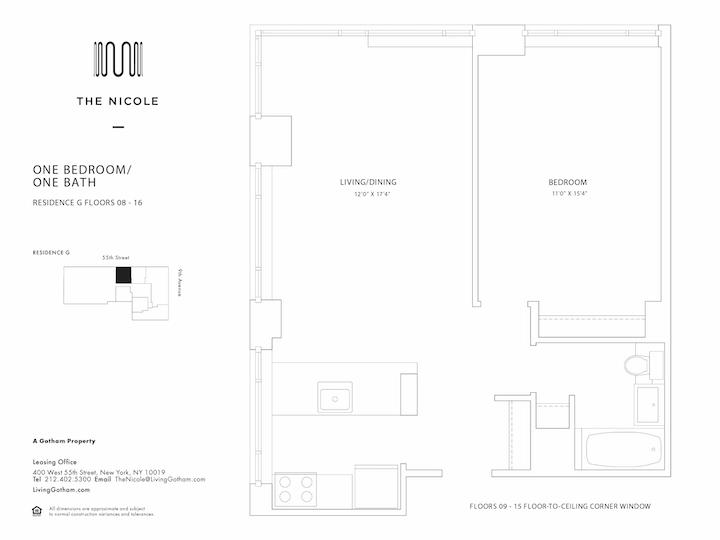 The Nicole #09G Floorplan