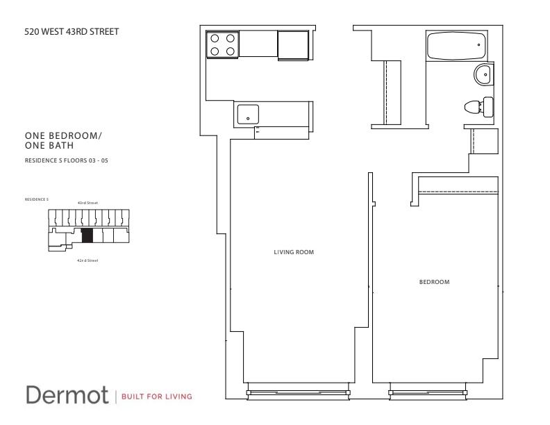 Floor plan for 3S