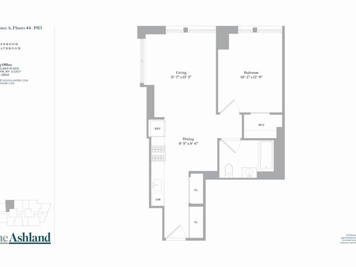 The Ashland #46A Floorplan