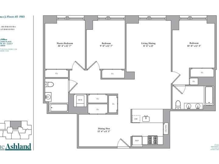 The Ashland #46J Floorplan