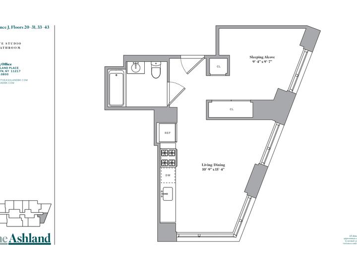 The Ashland #35J Floorplan