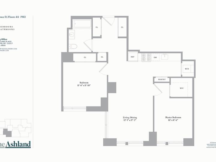 The Ashland #48D Floorplan