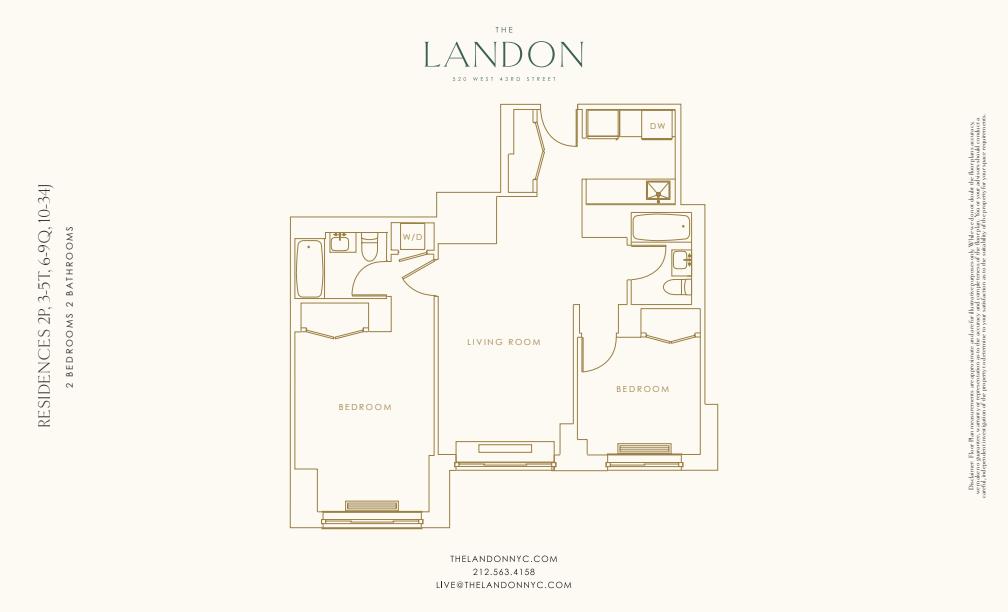 Floor plan for 8Q