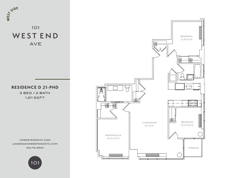 Floor plan for 26D