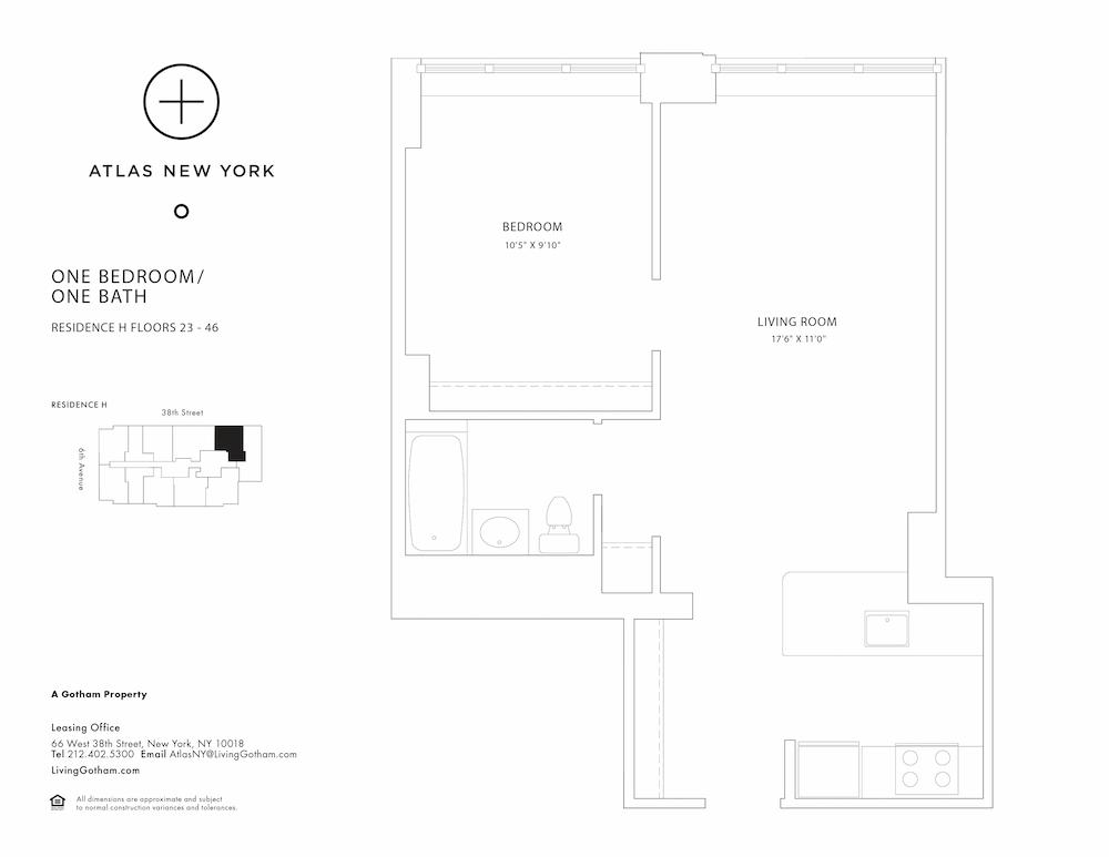 Atlas New York: 46H