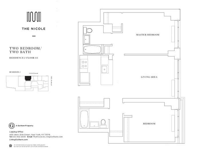 The Nicole #03J Floorplan