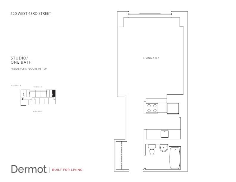 Floor plan for 8K