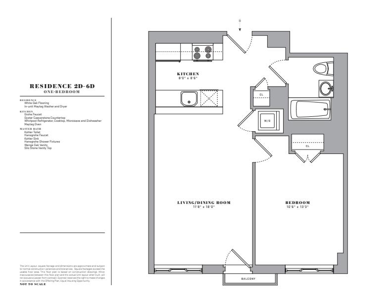 Floor plan for 5D