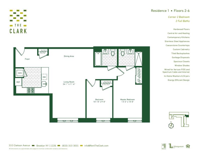 #601 Floor Plan