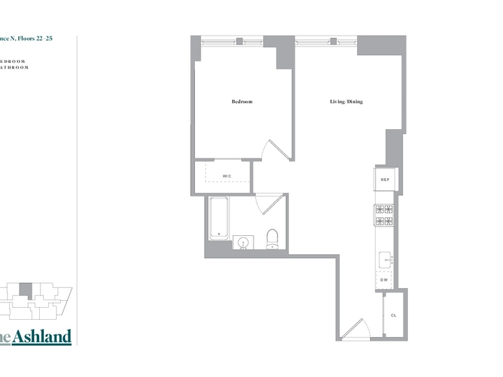 The Ashland #22N Floorplan