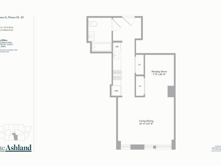 The Ashland #38G Floorplan