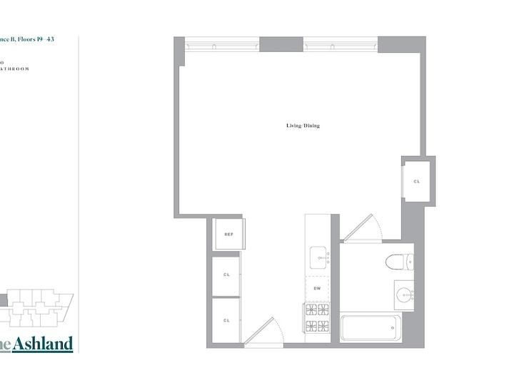The Ashland #24B Floorplan