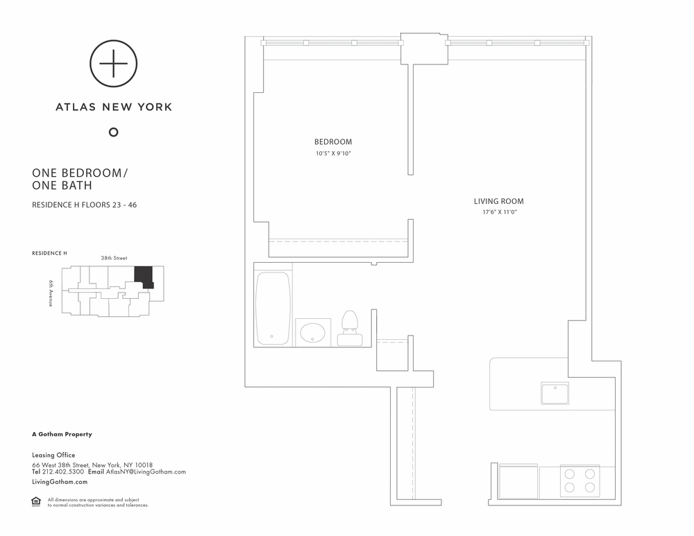 Atlas New York: 43H
