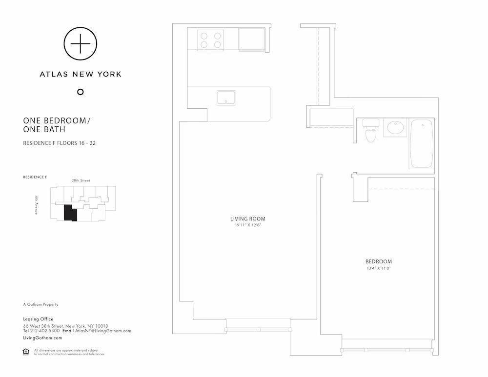 Atlas New York: 16F
