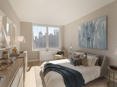 Thumbnail of Gotham West: 2507 a bedroom with a large window