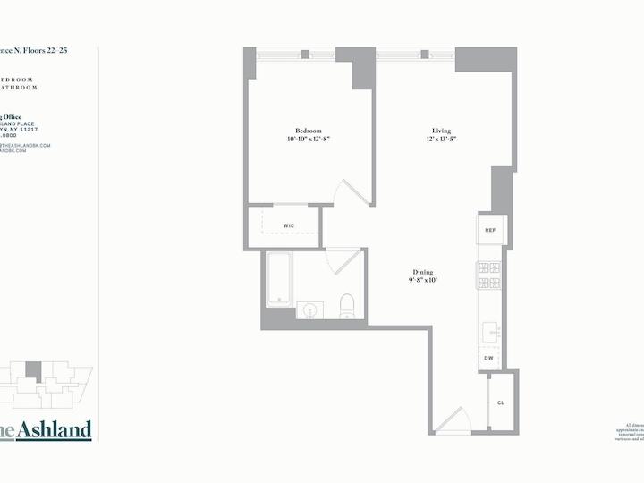 The Ashland #24N Floorplan