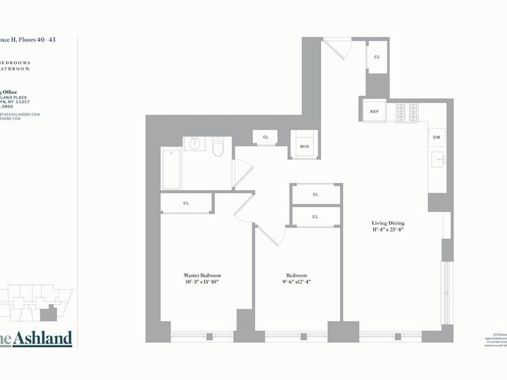 The Ashland #41H Floorplan