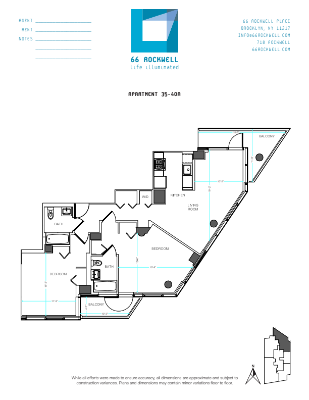 Floor plan for 40A