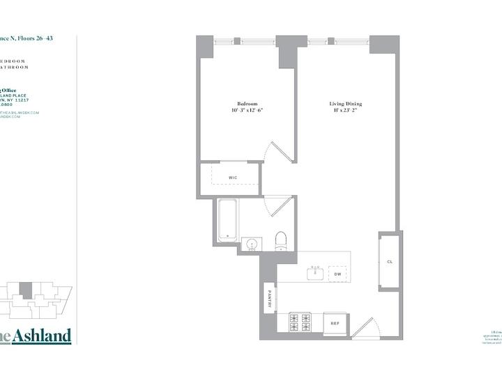The Ashland #39N Floorplan