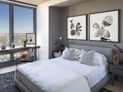 Thumbnail of The Ashland: 25K a bedroom with a large bed in a hotel room