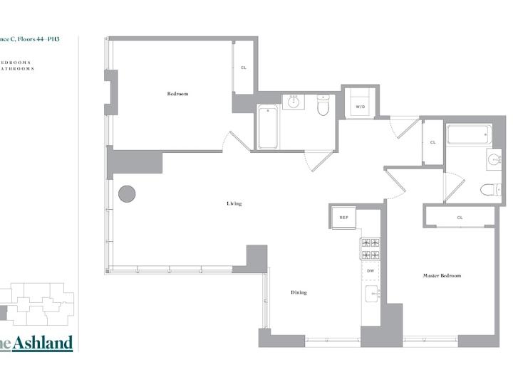 The Ashland #48C Floorplan