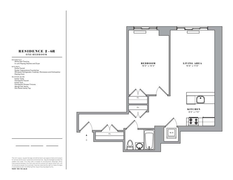 Floor plan for 4R