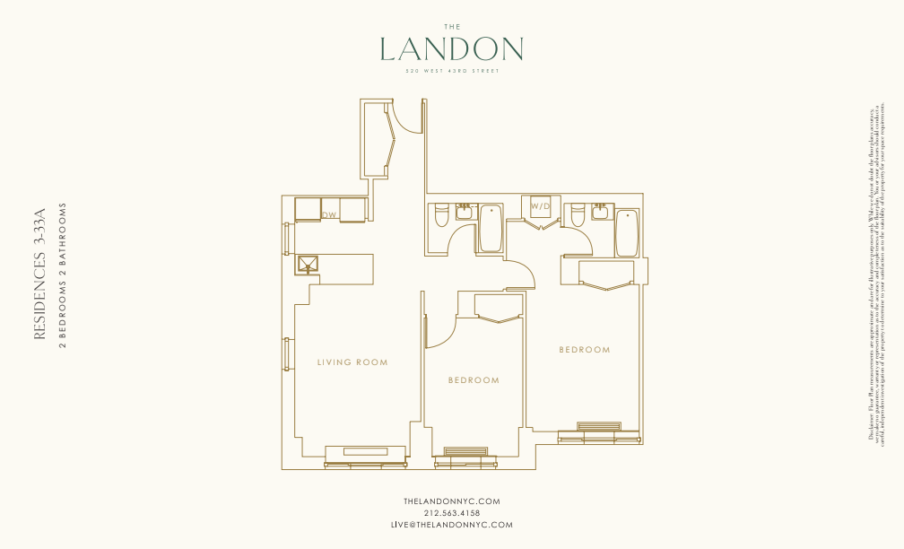 Floor plan for 14A