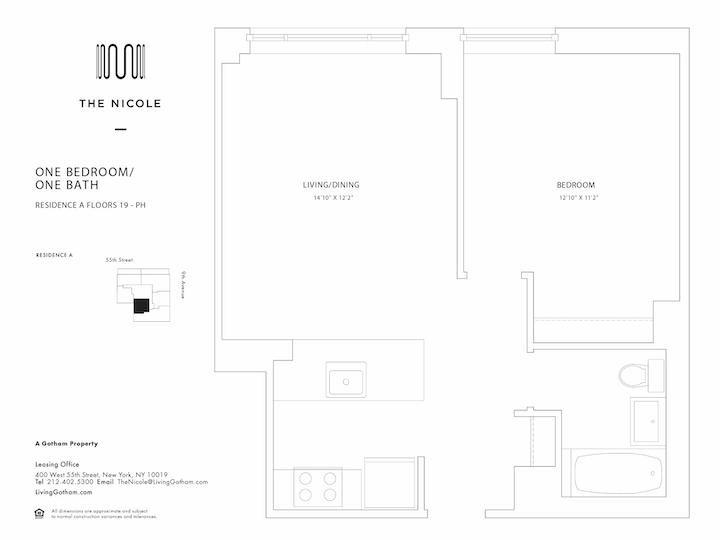 The Nicole #19A Floorplan