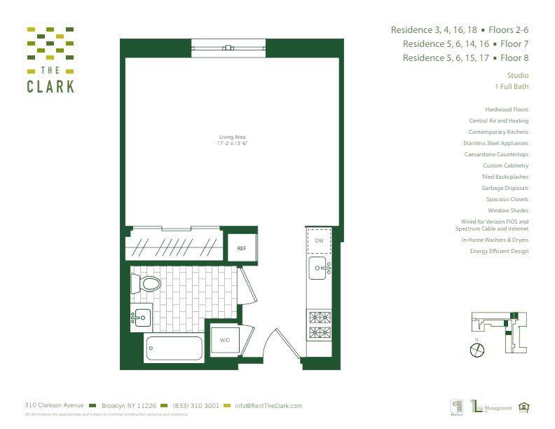 #307 Floor Plan