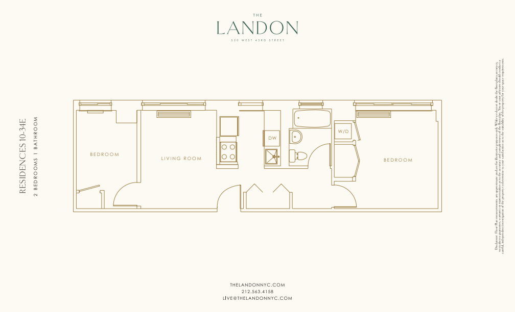 Floor plan for 32E