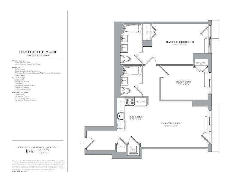 Floor plan for 5H