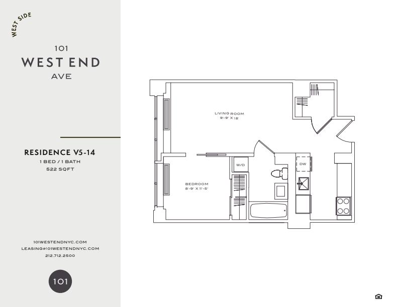 Floor plan for 8V