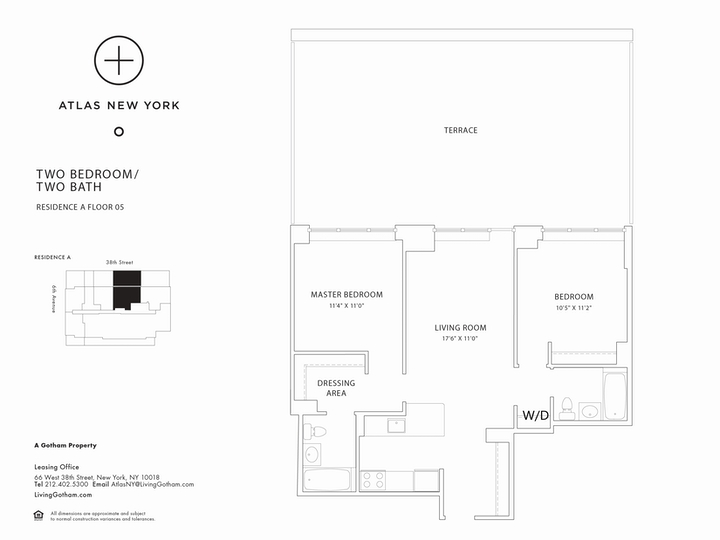 Atlas New York #05A Floorplan