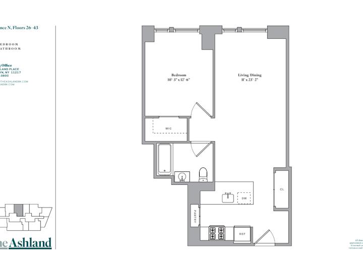 The Ashland #38N Floorplan