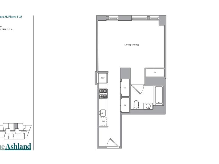 The Ashland #19M Floorplan
